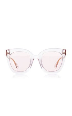Anima Cat-Eye Acetate Sunglasses By Gucci | Moda Operandi