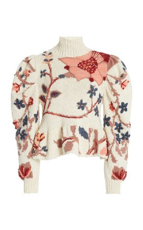Palma Intarsia-Knit Sweater By Ulla Johnson | Moda Operandi