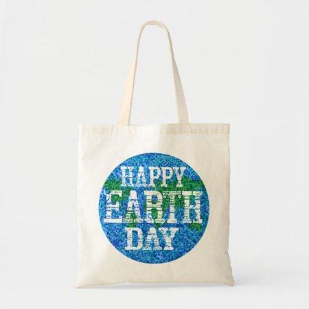 Earth Day Budget Tote   Zazzle.com