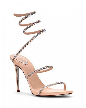 Cleo Sandal 105 | pink | René Caovilla