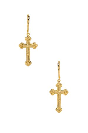 Siena Cross Earrings