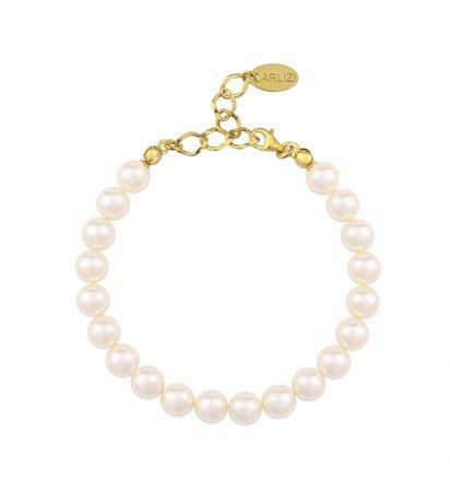 cream pearl bracelet - Google Search