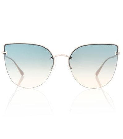 Ingrid cat-eye sunglasses