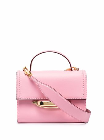 Alexander McQueen The Story Leather Tote Bag - Farfetch