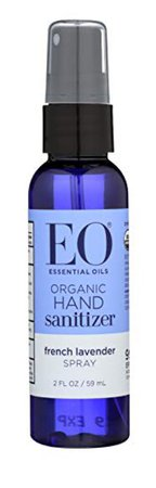EO organic hand sanitizer french lavender