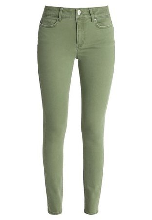 ONLY ONLZOOM ANKLE PANT - Jeans Skinny Fit - ivy green - Zalando.co.uk