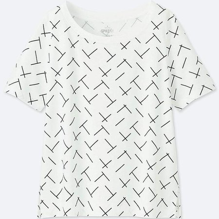 Women's Sprz Ny Short-sleeve Graphic T-Shirt (francois Morellet)