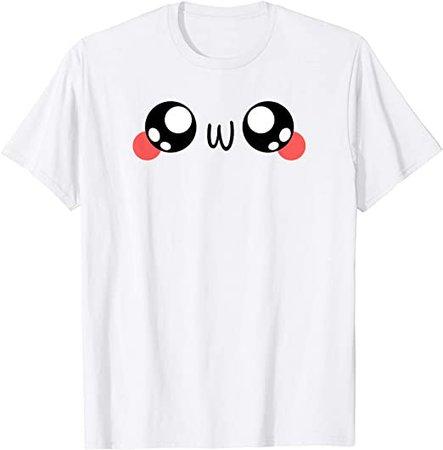 Amazon.com: OwO Shirt - UwU Shirt: Clothing