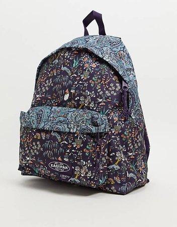 Eastpak x Liberty padded pak'r backpack in light print   ASOS