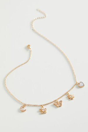 Boca Charm Necklace | Urban Outfitters
