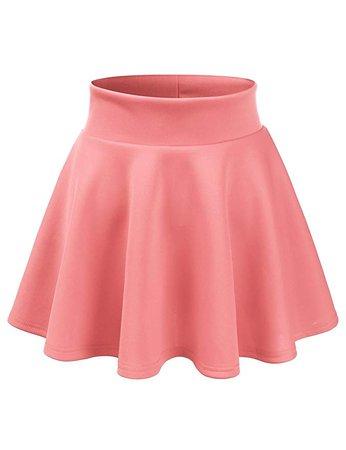 Blush Pink Skater-Skirt