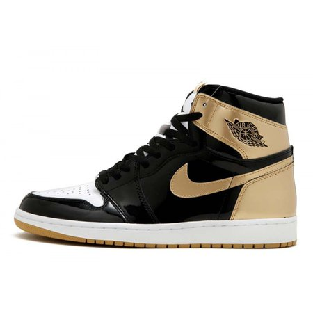 Jordan Retro 1 Mid Black Gold