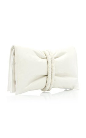 Leather Envelope Clutch By Bottega Veneta
