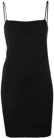 stretch sleeveless mini dress