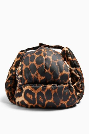 Leopard Print Trapper Hat | Topshop