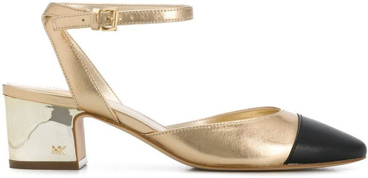 Brie two-tone 60mm pumps