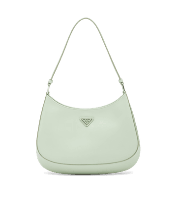 Prada Cleo brushed leather shoulder bag   Prada
