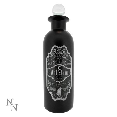 Nemesis Now Wolsbane potion bottle