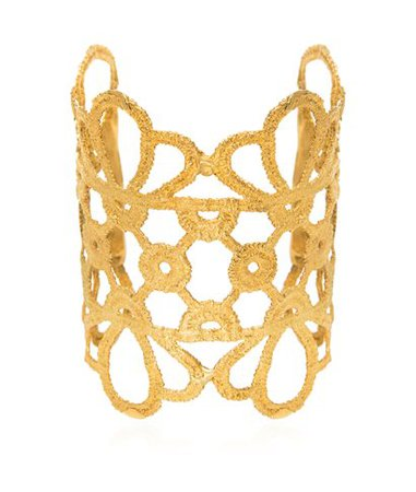 Elena Kougianou Maize Cuff Gold-Plated < Elena Kougianou List | aesthet.com