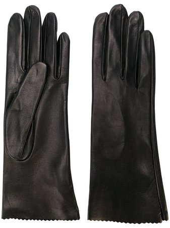 Manokhi Short Gloves MANO161BLACK Black | Farfetch