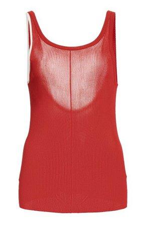 Maggie Ribbed-Knit Tank By Peter Do | Moda Operandi