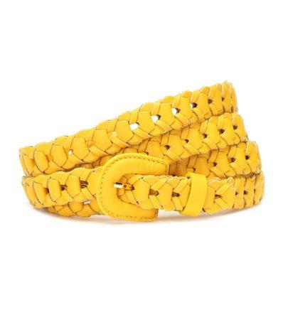 Jacquemus Woven Leather Belt