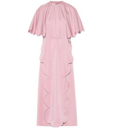 Scalloped cady dress