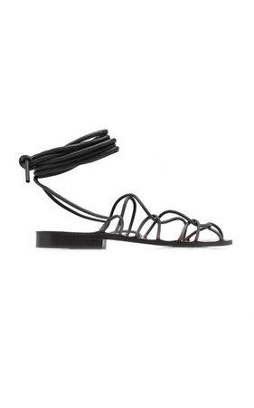 Lyon Leather Sandals By Khaite | Moda Operandi