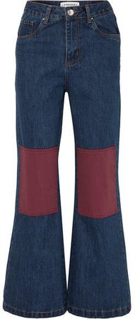 L.F.Markey - Big Bells High-rise Wide-leg Jeans - Indigo