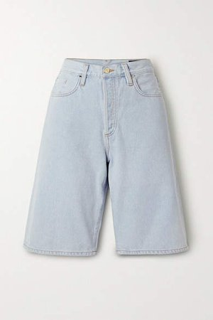 Net Sustain Denim Shorts - Light denim