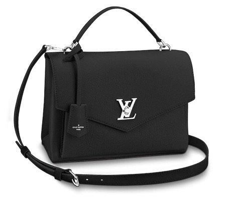 black Louis vuitton handbag