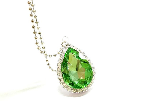 Tiana inspired necklace