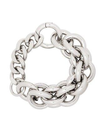 1017 ALYX 9SM chunky link-chain bracelet silver AAUJW0074OT01S21 - Farfetch