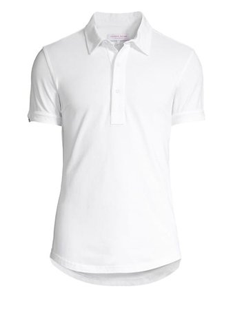 Orlebar Brown Sebastian Tailored Polo Shirt   SaksFifthAvenue