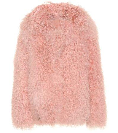 Heart fur jacket