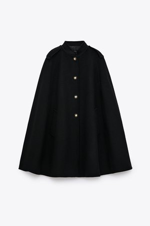 WOOL BLEND CAPE | ZARA United States