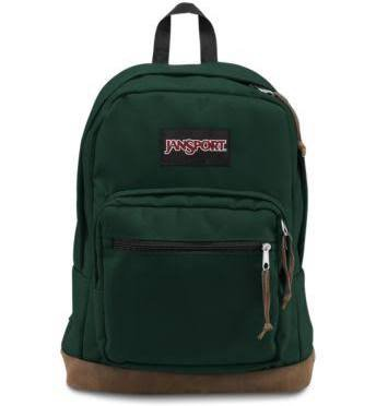 JanSport Right Pack Backpacks - Pine Grove Green