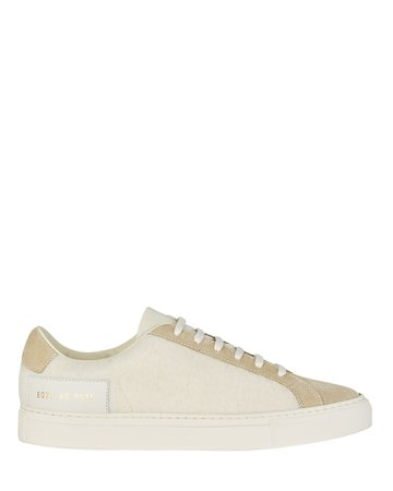 Common Projects Retro Wool Sneakers   INTERMIX®