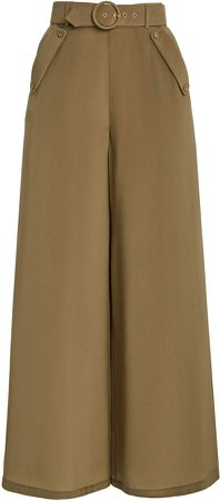 Zimmermann Silk Wide Leg Pant