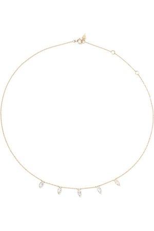 LOREN STEWART 14-karat gold topaz necklace