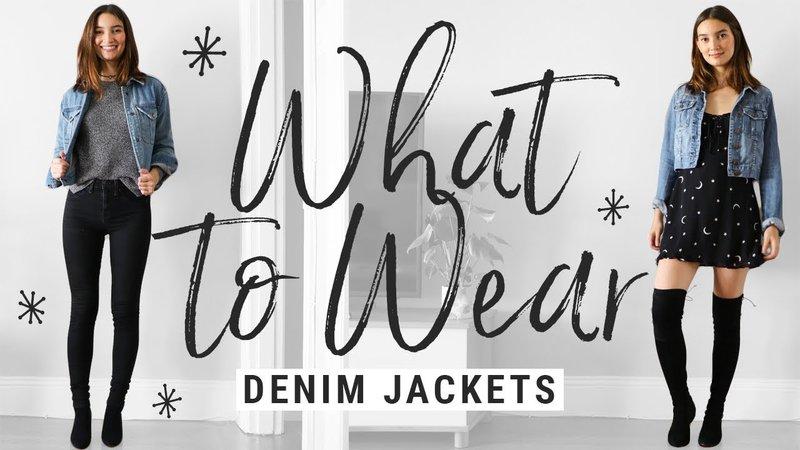 denim jacket fall - Google Search