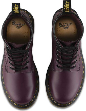 Womens Dr. Martens 1460 8-Eye Boot W - Purple Smooth - FREE Shipping & Exchanges