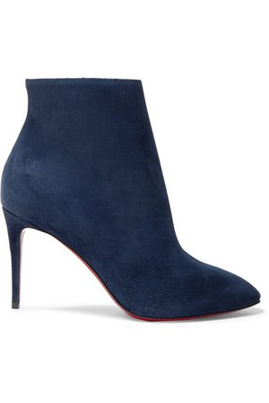 Christian Louboutin | Eloise 85 suede ankle boots | NET-A-PORTER.COM