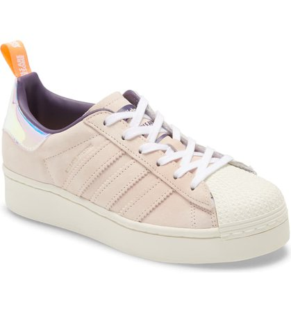 adidas x Girls Are Awesome Energy Superstar Plateau Sneaker (Women) | Nordstrom