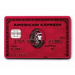 Red American Express Card