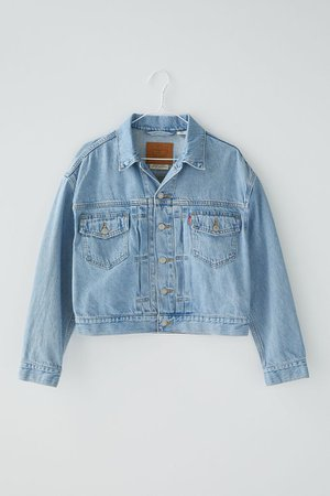 Levi's Heritage Denim Trucker Jacket – Get Over It   Urban Outfitters
