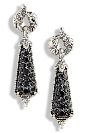 Konstantino Circe Black Spinel Drop Earrings | Nordstrom
