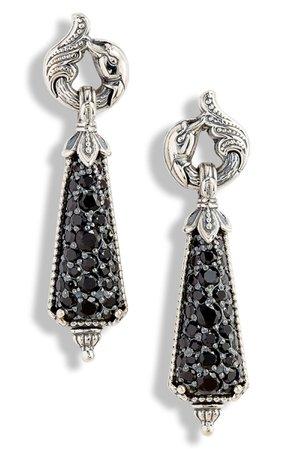 Konstantino Circe Black Spinel Drop Earrings | Nordstrom