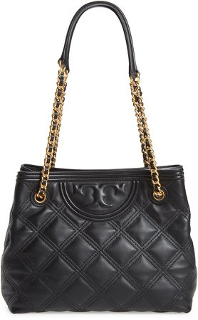 Fleming Soft Quilted Leather Tote