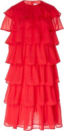 Millie Tiered Georgette Dress
